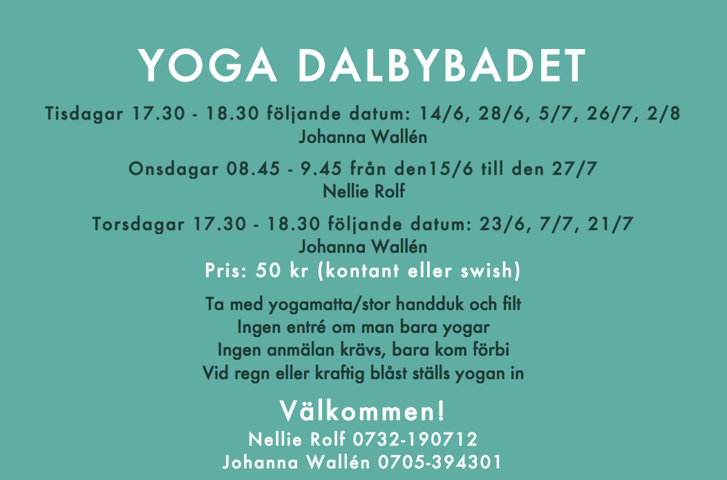 Infoblad sommaryoga