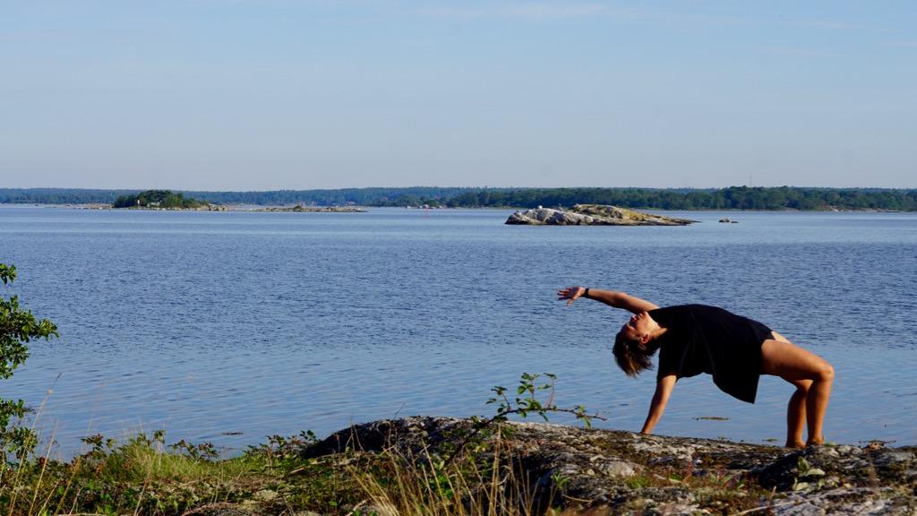 Yoga på Tärnö