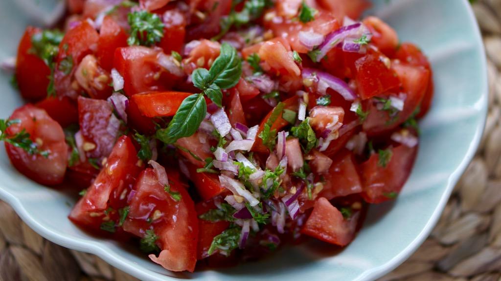 Tomatsallad